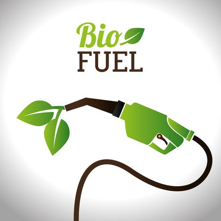Bio fuel vector illustration design Vector
