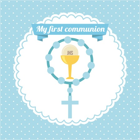 my first communion  design