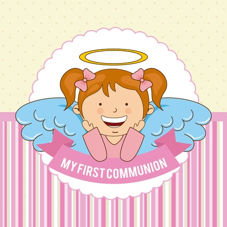 my first communion  design