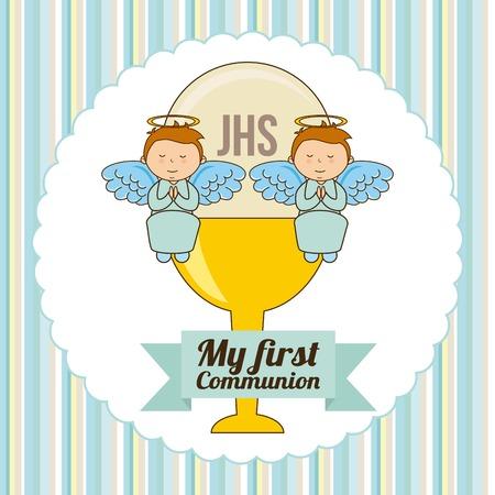 1st: my first communion design