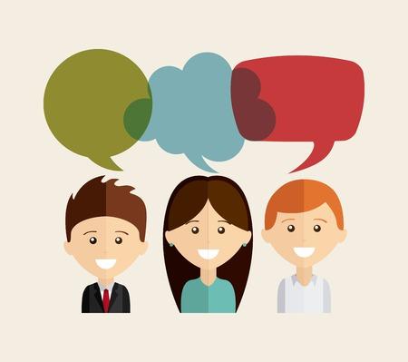 speech bubble: bubble talk design