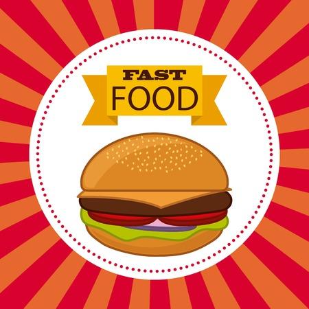 diseño de la comida rápida