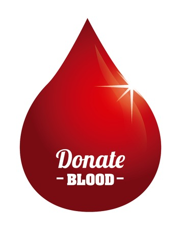 reflection of life: donate blood design, vector illustration eps10 graphic