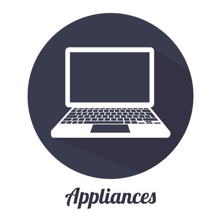 household goods: appliance icon design