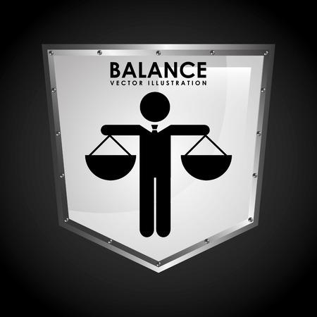 balance icon: balance icon design