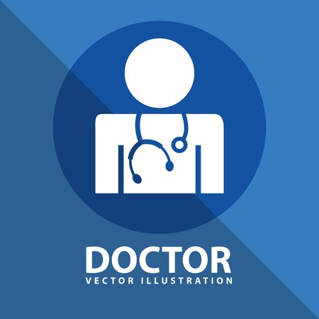 doctor icon design Illustration