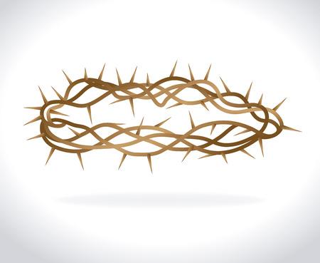 Religion design over white background, vector illustration.