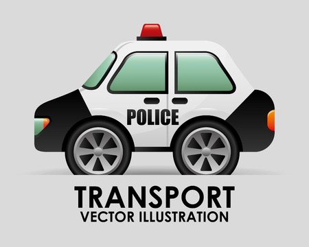 emergency cart: transport vehicle design, vector illustration eps10 graphic