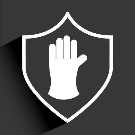 industrial safety: dise�o de la seguridad industrial, ilustraci�n vectorial gr�fico eps10