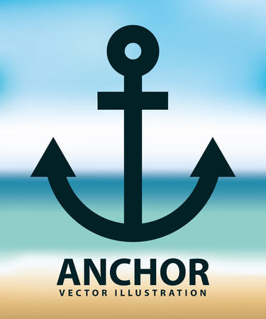 eps10: anchor icon design, vector illustration eps10 graphic
