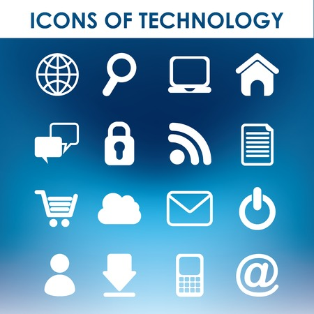 icons of technology design, vector illustration eps10 graphic Vector