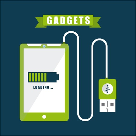gadgets tech design, vector illustration eps10 graphic Vector