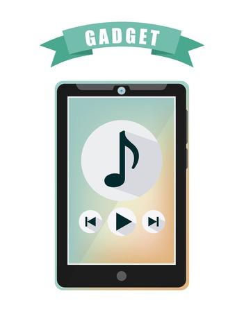 gadget: gadget tech design, vector illustration eps10 graphic