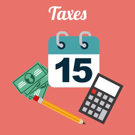 irs: taxes icon design, vector illustration eps10 graphic