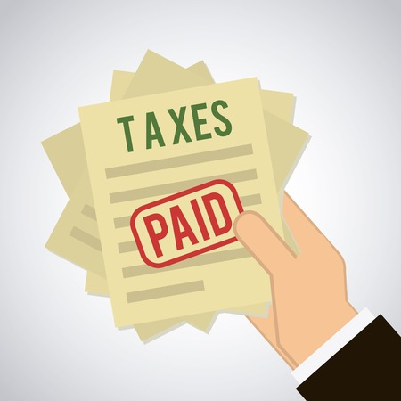 tax: taxes icon design, vector illustration eps10 graphic
