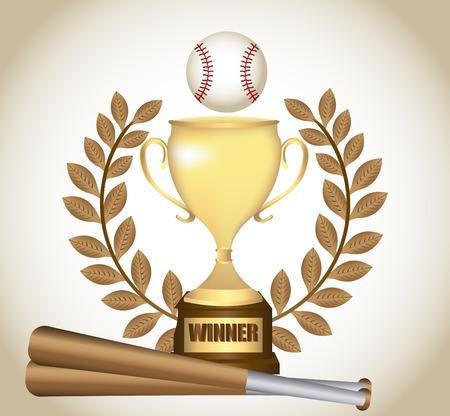 baseball game design, vector illustration eps10 graphic Vector