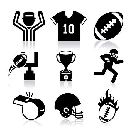 american football design, vector illustration eps10 graphic Vector