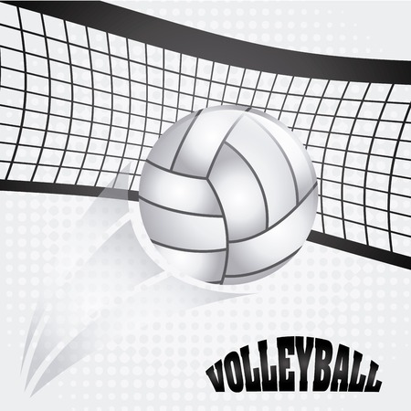 volleyball ball design, vector illustration eps10 graphic Illustration