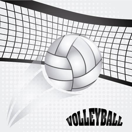 volleybal bal ontwerp, vectorillustratie eps10 grafische