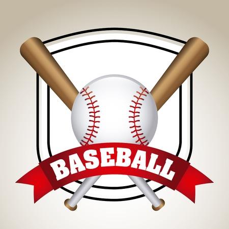 野球のアイコン デザイン、ベクトル図 eps10 グラフィック  イラスト・ベクター素材