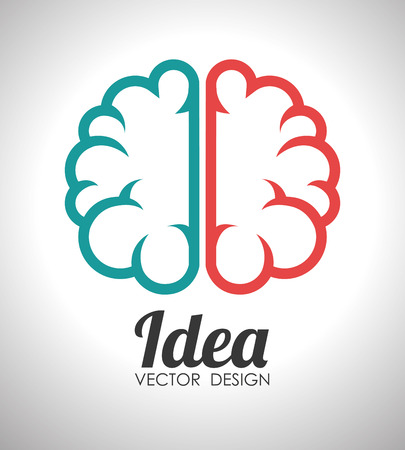 practical: Ideas design over white background, vector illustration.