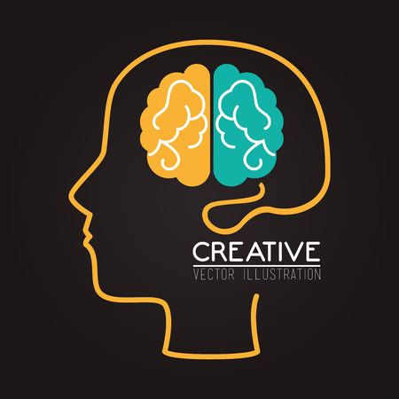 practical: Ideas design over gray background, vector illustration.
