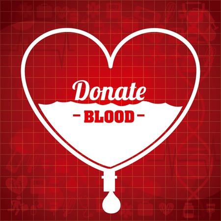 gen: donate blood design, vector illustration