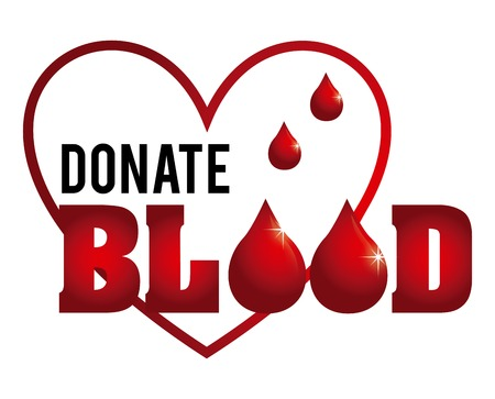donate blood design, vector illustration