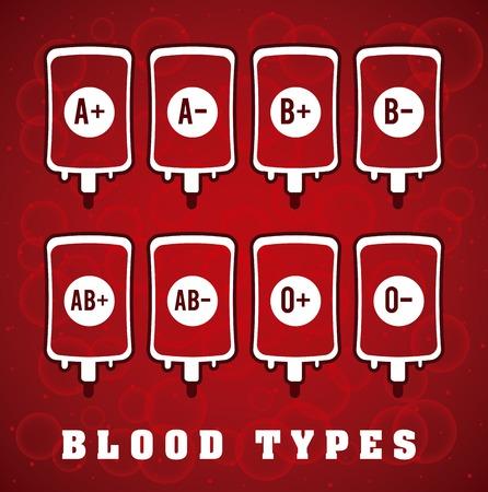 rh: donate blood design, vector illustration
