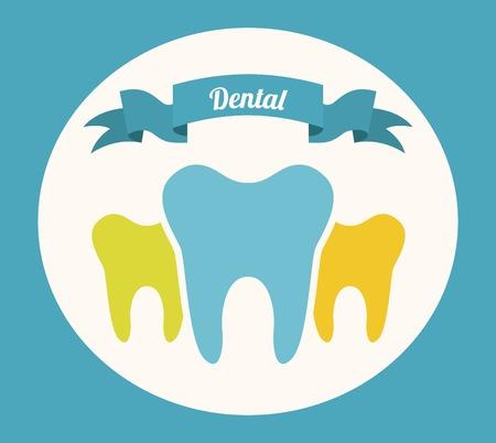 dental care: dental care design, vector illustration Illustration