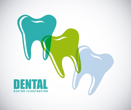 dental care design, vector illustration Vector