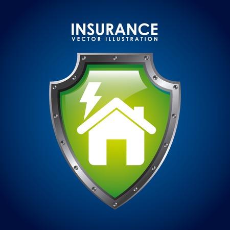 guard house: insurance icon design, vector illustration eps10 graphic