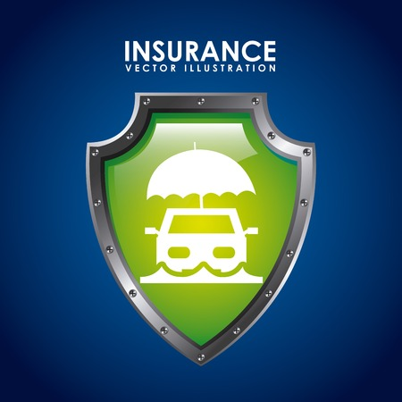 insurance icon design, vector illustration eps10 graphic Vector
