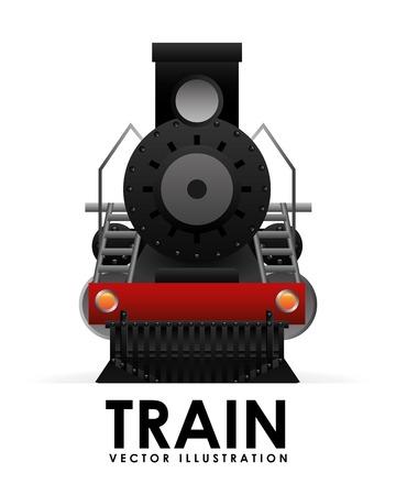 アイコンのデザイン、ベクター イラスト eps10 グラフィックを列車します。