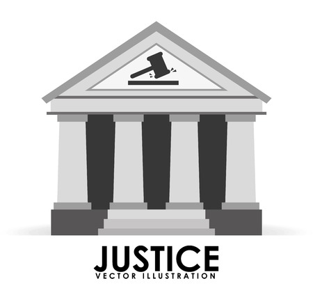 barrister: justice icon design, vector illustration eps10 graphic