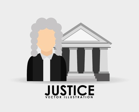 proffesional: justice icon design, vector illustration eps10 graphic