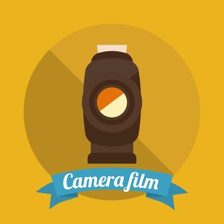 handy cam: camera film design, vector illustration eps10 graphic