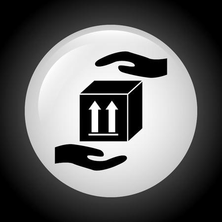 insurance icon design, vector illustration eps10 graphic Vector