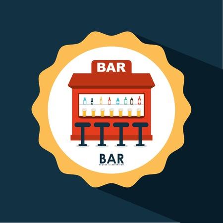 barra: barra de iconos de dise�o, ilustraci�n vectorial gr�fico eps10