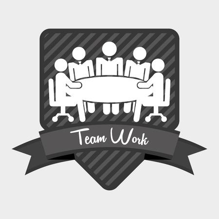 teamwork design, vector illustration eps10 graphic Illustration