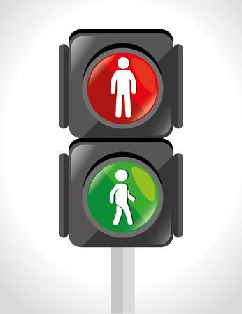 ad board: Road design over white background, vector illustration. Illustration