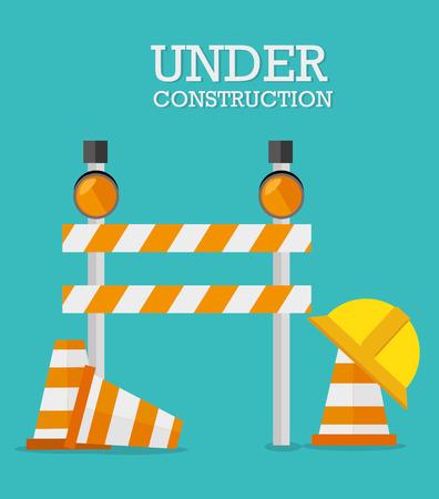 whote: Road design over whote background, vector illustration. Illustration