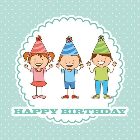 Diseño feliz del cumpleaños Foto de archivo - 36107293