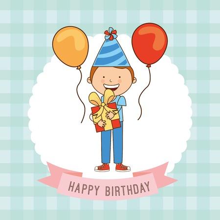 El diseño del cumpleaños Foto de archivo - 36107296