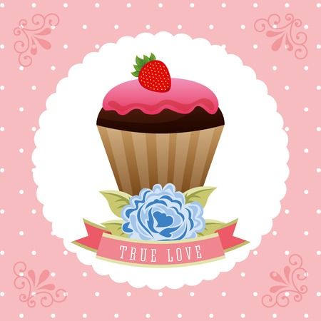 bakery sweet design, vector illustration eps10 graphic Vector