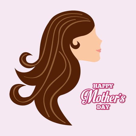 beautyful: mothers day design, vector illustration eps10 graphic