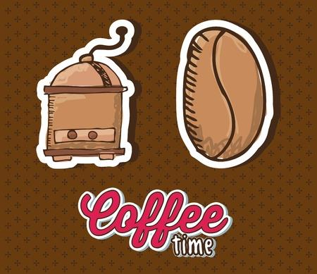 roaster: delicious coffee design, vector illustration eps10 graphic