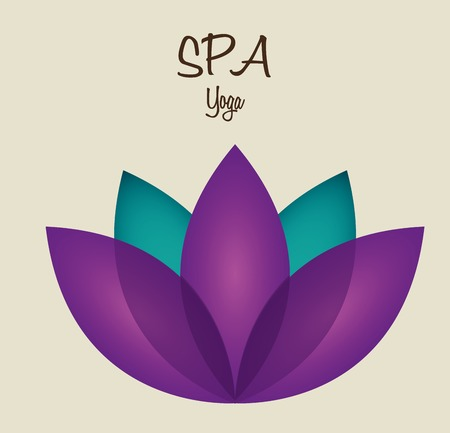 spa therapy  design, vector illustration eps10 graphic Vector