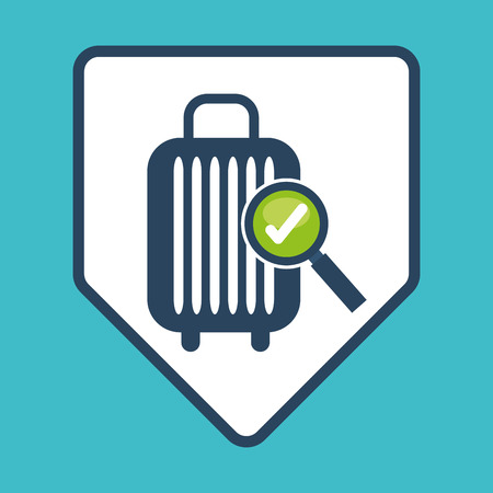 airport icons design, vector illustration eps10 graphic Vector