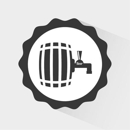 cold beer: cold beer design, illustration graphic